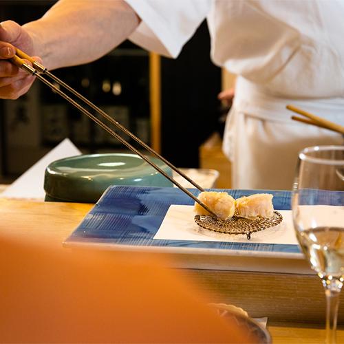【7月〜】天ぷらイベントコース (~旬食材の天婦羅とお得に楽しむ~)